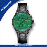 Montre de chronographe de Subdial de mouvement de Multfunction avec le service d'OEM et d'ODM