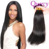 最上質のバージンのまっすぐな人間の毛髪100%の加工されていない毛の拡張