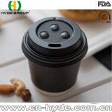 taza de papel del café doble de la pared 4oz con la tapa