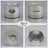 Pistón 6D14t del motor diesel para el efecto de la pieza de automóvil Me032742 Alfin de Mitsubishi