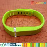 ISO15693 13.56MHz I SLI CÓDIGO RFID HF pulsera de silicona resistente al agua