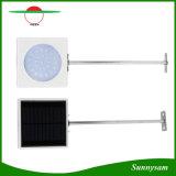 Le capteur de lumière solaire extérieur IP65 de lampe de mur de l'éclairage 25 DEL imperméabilisent la lampe pour le jardin de chemin de yard
