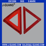 Треугольник горячей безопасности зарева видимости сбываний высокой красной предупреждающий (JG-A-03)