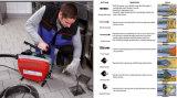 D150 Засорен сливной трубопровод змей электрические машины для очистки поверхностей