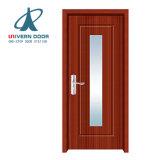 Основных фондов MDF двери клена и внутренних дел наружные двери с плоским экраном из ПВХ для ограниченного пространства