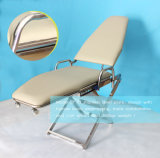 Zahnmedizinische Klinik-beweglicher zahnmedizinischer Stuhl mit Licht und betreiben Platte
