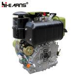 공냉식 디젤 엔진 호화스러운 유형 녹색 스플라인 샤프트 (HR188FAE)