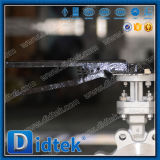 Valvola a farfalla di derivazione dell'aletta di triplo di un pezzo dell'asta cilindrica di Didtek