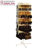 POS Shoe net curtain display status Slipper display shelf Retail Hanging display rack