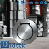 Качество CF8m Didtek надежное определяет задерживающий клапан вафли плиты
