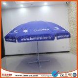 立場が付いている傘を広告するオックスフォードファブリック