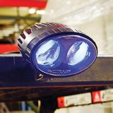 工場直売のフォークリフトLEDの青い点ポイント警報灯