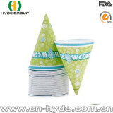 Impresos personalizados de papel de la Copa de cono de nieve