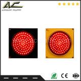 Indicatore luminoso di segnale popolare di traffico LED della sfera rotonda di vario colore della strada privata