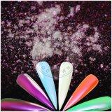 オーロラの魔法のネオンクロムミラーの虹の人魚の顔料の粉