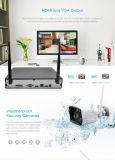 4CH steuern Kamera-Sicherheitssystem-Nachtsicht drahtlosen CCTV-Installationssatz automatisch an