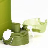 Бутылка воды силикона напольного спорта выжимкы свободно образца портативная складывая