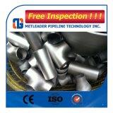Instalación de tuberías de acero inoxidable que reduce la te