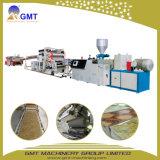 Máquina plástica rígida de mármol de la protuberancia de la hoja/de la losa del PVC del Faux