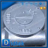 Didtek三重の風変りなWcbの鋳造物鋼鉄溶接蝶弁