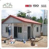 Casa ligera prefabricada del chalet del hogar del marco de acero de la alta calidad