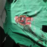 Rotary Camiseta automática máquina de impresión de pantalla para prenda