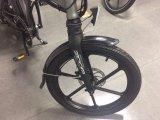 """Ville de la CE 20 """" pliant le vélo électrique avec la batterie au lithium"""