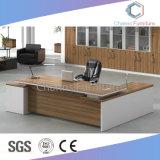 De manager verliet Draai ZijLijst Houten Bureau (cas-ED31416)