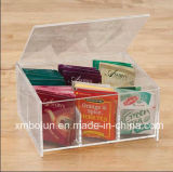 De Bovenkant van de hoogste Kwaliteit verkoopt de AcrylVertoning van het Adreskaartje met de Houder van het Teken