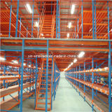 Heavy Duty rack Entresuelo con el estante Carton Flow