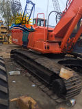 Equipos de construcción usadas de excavadora hidráulica excavadora sobre orugas de Hitachi EX200