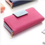 Coin Wallet 2017新しい韓国の長い財布の女性大きい容量のカードのパックの携帯電話袋