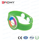 Bracelete colorido da admissão RFID do parque de diversões