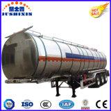 de Semi Aanhangwagen van de Tank van het Aluminium van de Legering van de Tanker van het Water van de Brandstof 50tons 3axle