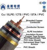 Câbles d'alimentation 12/20kv trois coeurs de câbles à la norme CEI 60502