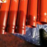 ULおよびFMによって証明されたASTM A795の黒および熱浸された亜鉛は(電流を通される)防火のための溶接された鋼管に塗った