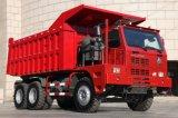 Carro de vaciado de la explotación minera de la tonelada 6X4 de Sinotruk HOWO 50 para la venta