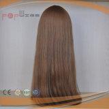 Parrucca ebrea superiore di seta piena delle donne dei capelli umani