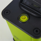 12 líneas nivel anti del laser del verde tres automáticos