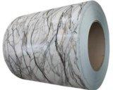 Bobina/strato di alluminio di pietra di marmo preverniciati usato per materiale da costruzione