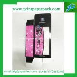 ロゴの印刷を用いる堅い紙箱の顔のクリーム色のパッキング