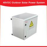 Intercambiables en caliente al aire libre de 48 VDC Sistemas solares con MPPT Controlador de carga solar fuente de alimentación para Tetecom