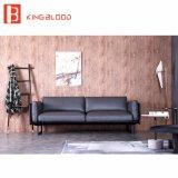 新しい部門別L形の本革のソファーはホーム家具のためにセットした