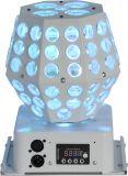 Indicatore luminoso di effetto della sfera della stella del Gobo di rotazione del LED per la discoteca/partito/barra