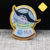 Distintivo su ordinazione promozionale all'ingrosso di marchio della bandierina degli S.U.A.