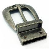La boucle de courroie réversible en alliage de zinc de Pin de boucle en métal de qualité pour la robe ceinture les sacs à main de chaussures de vêtement (XWS-ZD297)