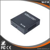 1X 100Base-FX para 8X 10/100Base-T 1550nm 60km SC para o conversor de mídia