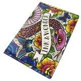 편평한 팩 t-셔츠 포장을%s 다채로운 물결 모양 판지 상자