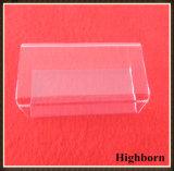 Transparentes quadratisches Silikon-Quarz-Glas-Rohr