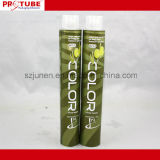 Estetica che impacca il tubo di colore di alluminio pieghevole dei capelli